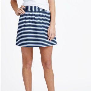 Vineyard Vines stripe Sailing Skirt lined